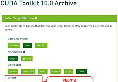 UbuntuでのGPUディープラーニング環境の構築【Ubuntu 18.04 LTS対応】 (1/3):機械学習&ディープラーニング環境構築入門 - @IT