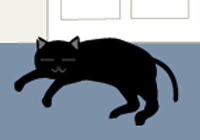 猫の話 その83 | イラストブログ | 赤ずきんDIARY