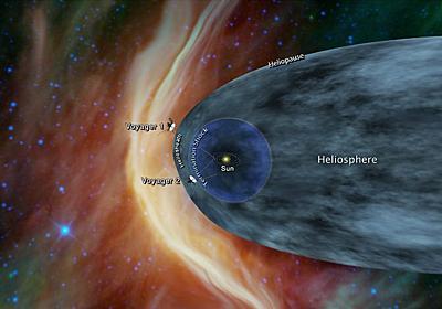 「ボイジャー2号」いよいよ太陽系脱出へ。打ち上げから約40年 | sorae:宇宙へのポータルサイト