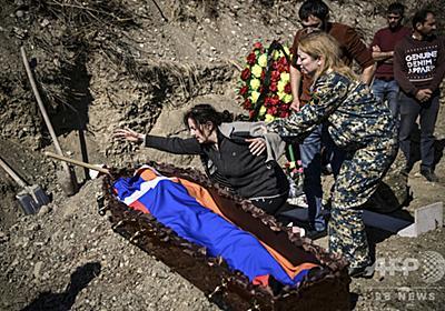 2度目の停戦も互いに「違反」非難 アルメニアとアゼルバイジャン 写真5枚 国際ニュース:AFPBB News