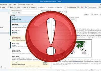 Outlookで受信メールの添付ファイル名が文字化けする不具合 [Update 2: 暫定的な回避策あり] | ニッチなPCゲーマーの環境構築Z