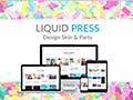 無料で簡単!WPテーマの見出しデザイン等変更するLIQUIDスキン | WordPressやWebデザインなど紹介 Ocadweb