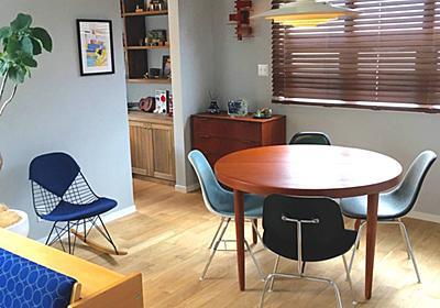 <家づくり>ダイニングはバラバラ椅子で楽しく!違う椅子を調和させるコツ - My Midcentury Scandinavian home 〜北欧ミッドセンチュリーの家〜