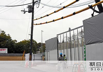 奈良公園にホテルは必要? 知事選で舌戦、反発も根強く [2019統一地方選挙]:朝日新聞デジタル