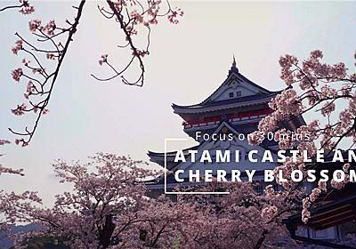 【作業用4K映像】熱海城と桜【高画質】 - 30分集中のすゝめ