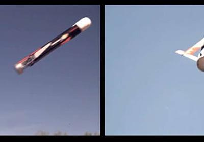 米海軍、群れで飛ぶ低コスト変形無人機LOCUSTを公開。円筒から発射 - Engadget 日本版