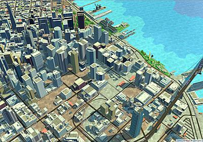 まるでシムシティのようなWeb地図ライブリラリ「eegeo.js」 – GUNMA GIS GEEK