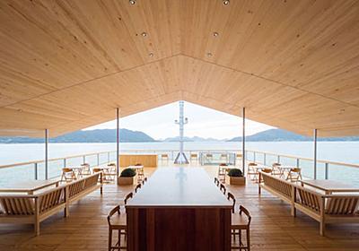 客船〈guntû ガンツウ〉尾道から出港。建築家・堀部安嗣さんによるせとうちの海に浮かぶ、ちいさな宿|「colocal コロカル」ローカルを学ぶ・暮らす・旅する
