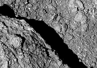 高解像度で撮影されたリュウグウの地表。望遠カメラONC-Tで撮影 | sorae:宇宙へのポータルサイト