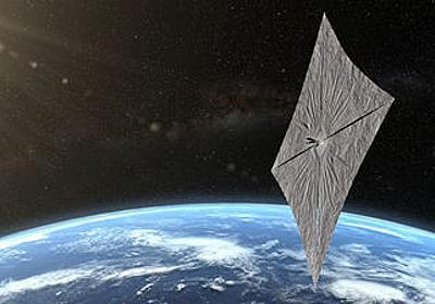 太陽光で進むソーラーセイル宇宙船「ライトセイル2号」、地球周回軌道で実証実験へ - GIGAZINE