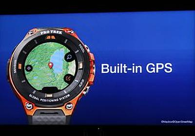 カシオ、GPS内蔵のSmart Outdoor Watch「WSD-F20」をCES 2017で発表   マイナビニュース