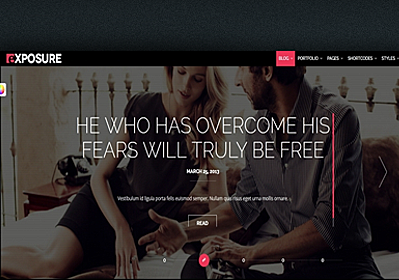 WordPress Full Screen Themes for Photographers - Stunning Examples
