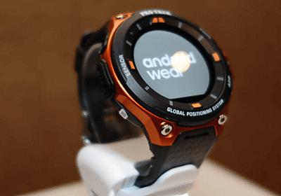 カシオ、Android Wear 2.0のタフネススマートウォッチ「WSD-F20」発表 - ケータイ Watch