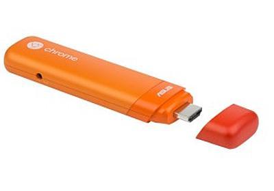 テレビがPCに早変わり! HDMI端子に挿すだけのスティック型Chrome PC「ASUS Chromebit」に新色登場 - デザインってオモシロイ -MdN Design Interactive-