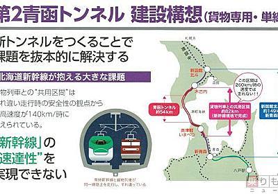 青函トンネル建設OBが作った第2青函トンネル「ホンキの見積書」 その内容は   乗りものニュース
