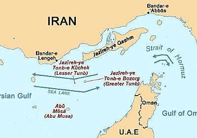 ペルシャ湾岸諸国の領土問題 - 歴ログ -世界史専門ブログ-