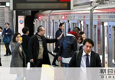 終電延長の利用者は4千人 大阪メトロ「これでは赤字」:朝日新聞デジタル