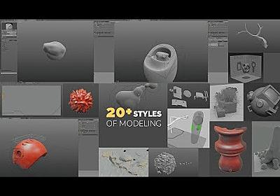 20+ Styles of 3D Modeling in 20 Minutes
