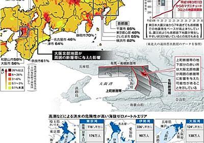 南海トラフ地震を前に近畿で直下型地震の可能性 大阪北部地震が誘発か 「対策急げ」と防災専門家(1/2ページ) - 産経WEST