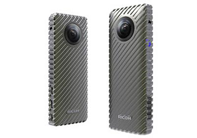 リコー、24時間撮影できる360度カメラを開発 - 2017年春に出荷予定   マイナビニュース