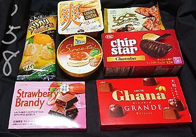 お菓子祭り!チョコが美味い季節だね、今回は当たり回です! - 【のムのム】自然体つぶやきブログ