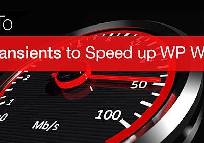 Use Transients to speed up WordPress Widgets – GenerateWP