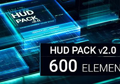 HUD Pack v2.0 - 600 elements Videohive - Free Download After Effects Templates