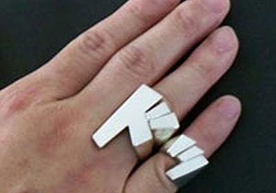 「効果音」をカタチにした指輪 - エキサイトニュース
