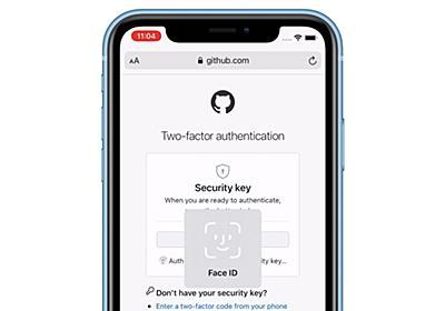 iOS 14/iPadOS 14のSafariではWebAuthn APIにより、セキュリティキーとしてTouch/Face IDを利用したWebサイトへのログインが可能に。 | AAPL Ch.