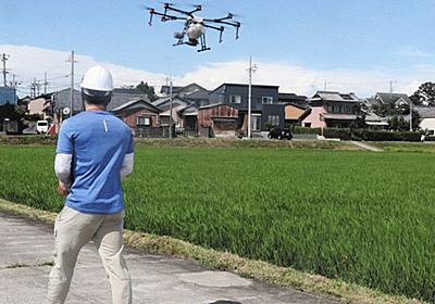津の農家でドローン共有 作業や費用の負担軽減に期待:中日新聞Web