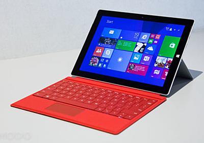 「Surface 3」ハンズオン:歴代最薄・最軽量・フルWindows 8.1搭載で言うことなし | ギズモード・ジャパン