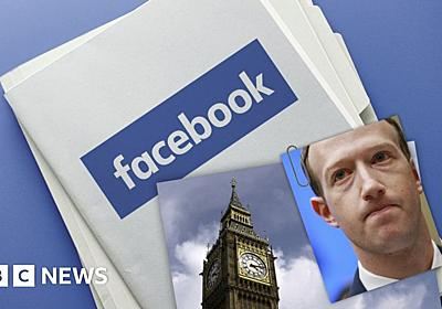 Facebook's seized files published by MPs - BBC News
