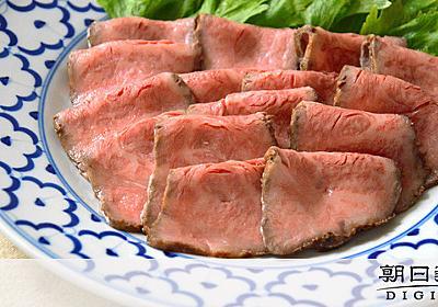 そのローストビーフ、大丈夫? 低温調理で食中毒に注意:朝日新聞デジタル