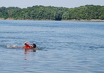 ヨーロッパで2番目に長い「ドナウ川」で泳ぐ :: デイリーポータルZ