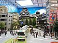 まるで本物!熊本城のミニチュア 特撮美術監督が総指揮:朝日新聞デジタル