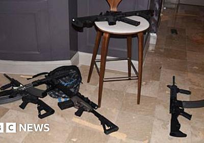 Las Vegas shooting: Ammunition dealer charged - BBC News