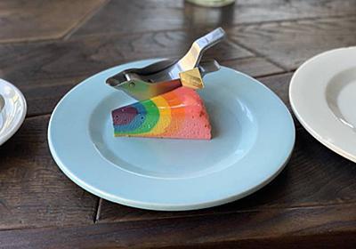 【学芸大学駅】移転後のAWORKS( エーワークス)でカラフルなレインボーチーズケーキを食べた - 珈琲を飲みたい猫
