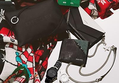 ディーゼルから、クリスマスギフトに最適なメンズシューズやデニム素材の2WAYバッグ   ファッションプレス