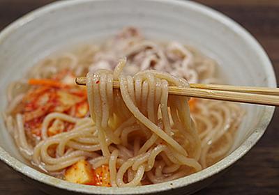 ドングリの澱粉で冷麺を作った by 「育ちすぎたタケノコでメンマを作ってみた」 - 趣味の製麺