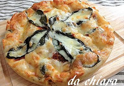 簡単ピザパン生地で作るマルゲリータ - キアラの気まぐれ料理とパン日記