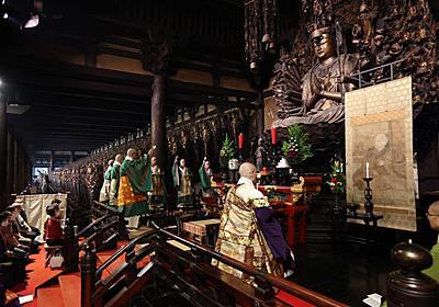 後白河法皇の13回忌以来、800年ぶりの法要 京都・三十三間堂で厳かに|文化・ライフ|地域のニュース|京都新聞