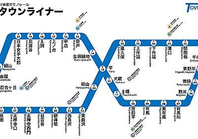 """幻の川崎""""8の字""""モノレール計画とはなにか :: デイリーポータルZ"""