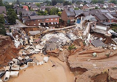 ドイツの壊滅的な洪水、忍び寄る気候変動の影響 | ナショナルジオグラフィック日本版サイト