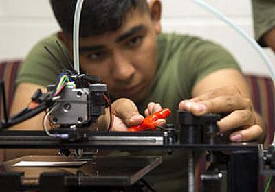 アメリカ海兵隊は「3Dプリンター」に夢中になっている - GIGAZINE