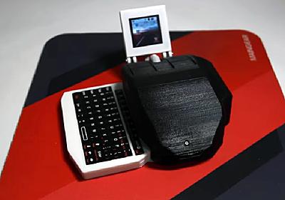 """【やじうまPC Watch】ラズパイ内蔵の""""マウス型PC""""が登場 ~キーボード/ディスプレイも搭載 - PC Watch"""