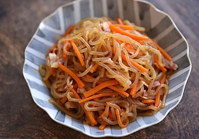 糸こんにゃくのきんぴらのレシピ/作り方:白ごはん.com