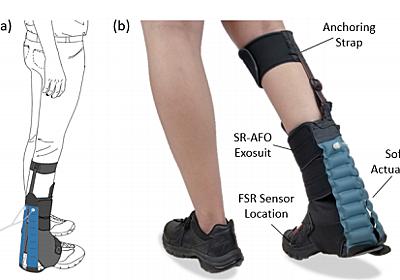 ふくらはぎをサポートし歩きやすくするソフトスーツ アリゾナ州立大学「SR-AFO」開発:Innovative Tech - ITmedia NEWS
