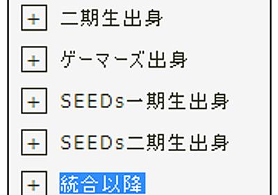統合後のにじさんじメンバーのデビュー順呼び分けを考えるブログ - izumino's note
