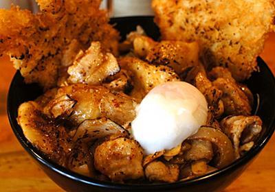 まさにワイルド丼めし!たっぷりのにんにくと共に肉を喰らう - メシコレ