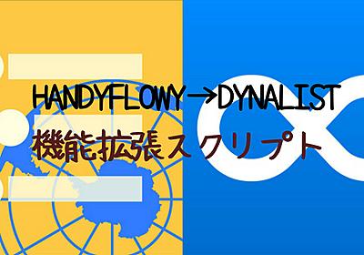 HandyFlowy(WorkFlowy)からDynalistへデータを移動させるスクリプト「Export2Dynawrite」が便利|いつもていねいに